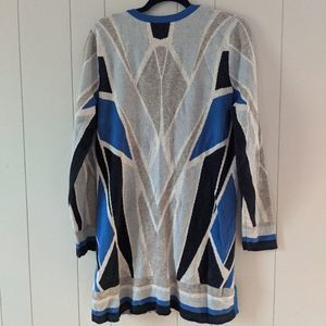 Isaac Mizrahi Live Long Cardigan Sweater